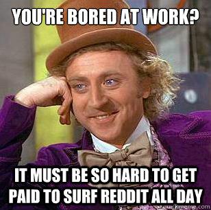 boring work