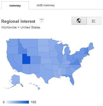 Romney Nationwide Regional Interest